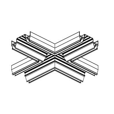 ALTEZA для натяжних стель - Елемент хрестовина для профілю (1шт.)