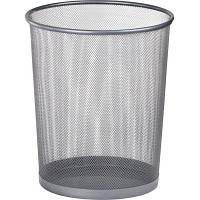 Корзина для бумаг BUROMAX Wire mesh, silver 15 л (BM.6270-24)