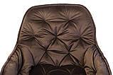 Стілець M-65 коричневий вельвет, фото 6