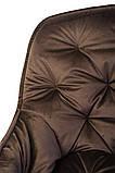 Стілець M-65 коричневий вельвет, фото 7