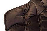 Стілець M-65 коричневий вельвет, фото 9