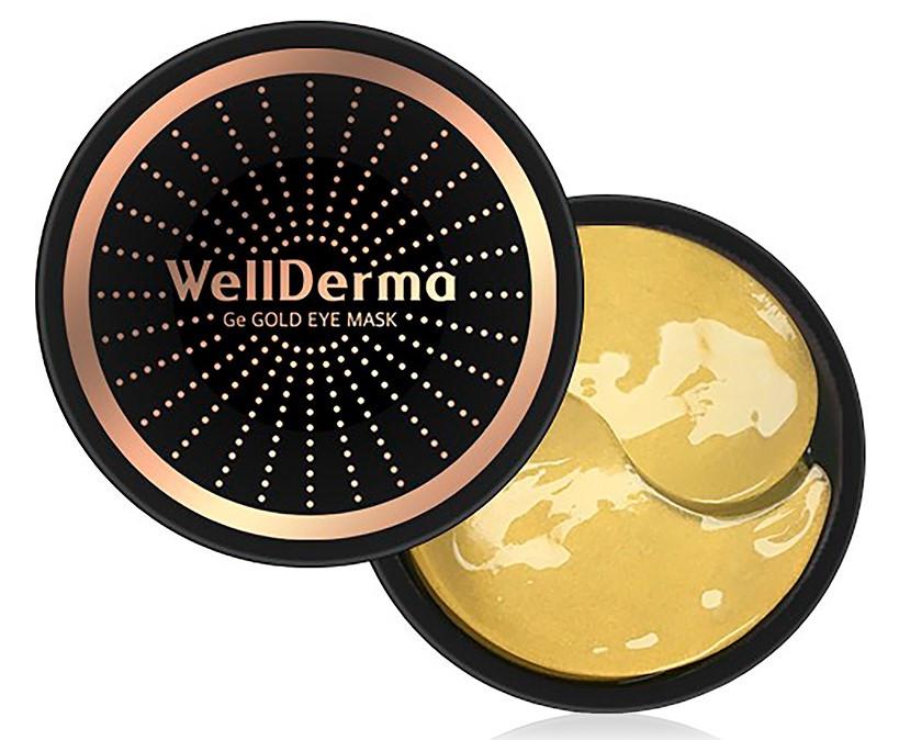 Патчи с золотом и германием Wellderma Ge Gold Eye Mask 60 шт