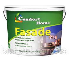 Краска фасадная матовая белая Comfort Home 1.2 кг