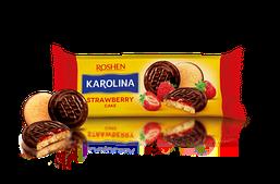 Печенье Roshen Karolina с желейной начинкой со вкусом клубники 135 г