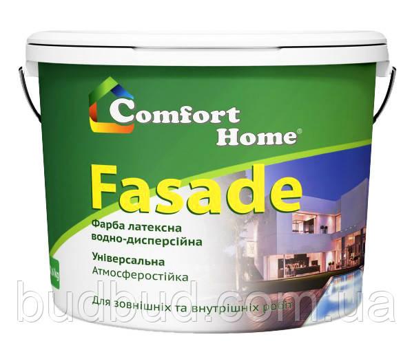Краска фасадная матовая белая Comfort Home 4 кг