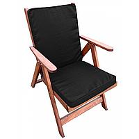 Матрас на кресло с кантом серия Classic Black 95x45x4