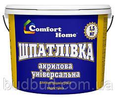 Шпаклівка горіх Comfort Home 1,5 кг
