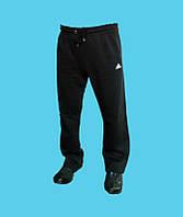 Брюки спортивные Adidas трикотажные,демисезонные.Чёрные.24153