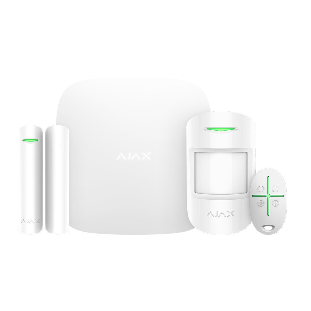 Комплект сигналізації Ajax StarterKit Plus white
