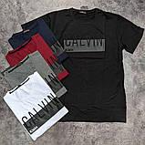 Мужская футболка Calvin Klein CK2490 черная, фото 3