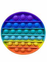 Радужная Игрушка Поп Ит Антистресс POP IT Push Bubble Fidget Antistress Бесконечная Пупырка