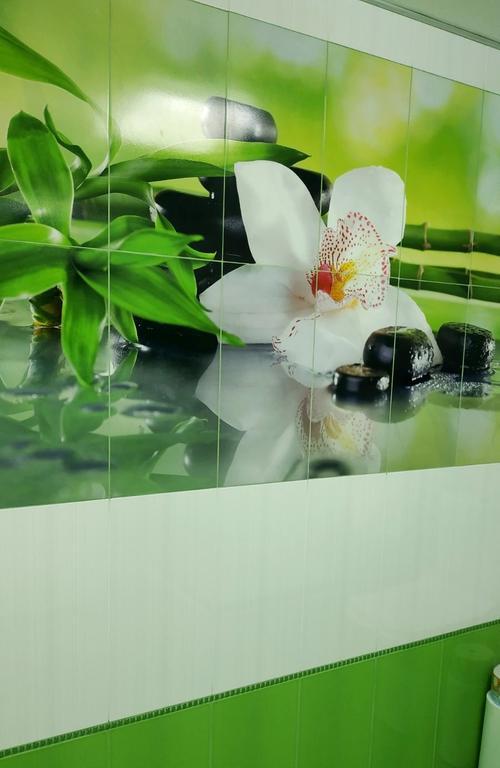 Плиточное панно цветок Орхидеи