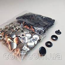 Кнопка киевская №61, 15 мм (кольцевая), Дашка, Капа (2 вида по 25шт)