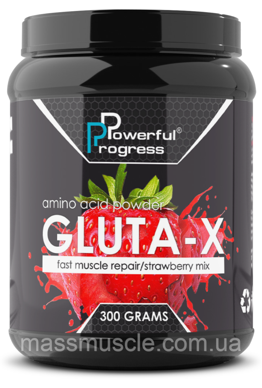 Глутамін Powerful Progress Gluta-X 300g