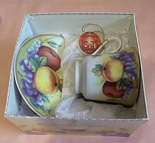 Набор чайный - чашка с блюдцем  230мл. в коробке, фото 2