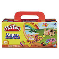 Моделирующий пластилин Play-Doh Super Color, 20-Pack