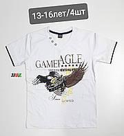 Подростковая трикотажная футболка для мальчика Gamef Agle размер 13-16 лет, цвет уточняйте при заказе, фото 1