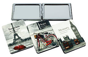 "Зеркало косметич."" Париж, Лондон"" 4в.,в/в 185-05"