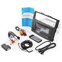 """Автомагнитола штатная Mitsubishi Pajero LCD магнитола Bluetooth с сенсорным экраном 8"""" TV тюнером GPS DVD MP3, фото 2"""