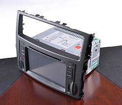 """Автомагнитола штатная Mitsubishi Pajero LCD магнитола Bluetooth с сенсорным экраном 8"""" TV тюнером GPS DVD MP3, фото 3"""