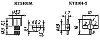 Транзистор КТ3101А (пластмасса)