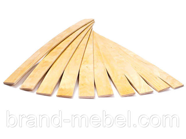 Ламель, латофлекс буковая для кровати 700*53мм