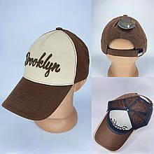 Яркая летняя мужская кепка-бейсболка с надписью BROOKLYN