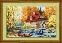 Набор для вышивки Золотое Руно ЛП-025 Старая мельница