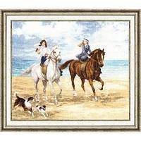 Набор для вышивки Золотое Руно ЧМ-019 Морская прогулка
