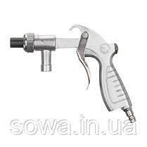 Пистолет пескоструйный со шлангом, 1 металлическая 6мм и 4 керамических форсунки 4,5мм, 5,0мм, 6,0мм, 7,0мм, фото 2