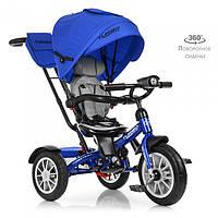 Велосипед трехколесный TURBOTRIKE M 4057-10 Синий, фото 1