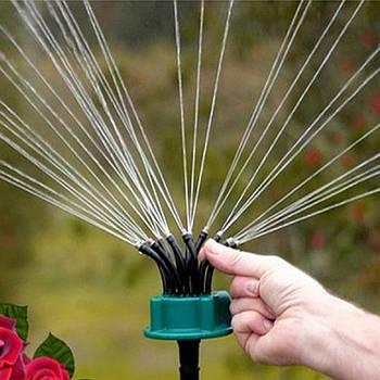 Умная система полива огорода и сада насадка на шланг опрыскиватель 12 в 1 Garden Fresh