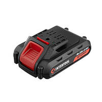 Акумулятор Li-Ion 18В 2.0 Ач для дрилі-шуруповерта WT-0314/WT-0313/WT-0317 INTERTOOL WT-0312