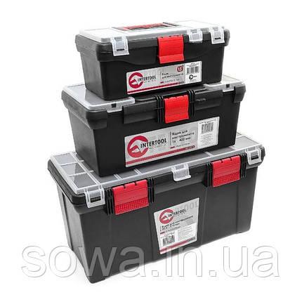Комплект ящиков для инструментов INTERTOOL BX-0003, фото 2