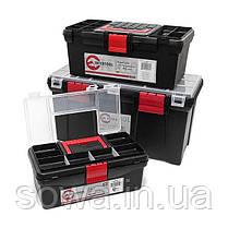 Комплект ящиков для инструментов INTERTOOL BX-0003, фото 3