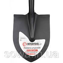 Лопата штыковая, ручка из фибергласса, 217х290х1050 мм INTERTOOL FT-2013, фото 2