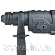 Перфоратор 1000 Вт, 3.5 Дж, 0-1100 об/мин, 0-4700 уд/мин, 3 режима INTERTOOL WT-0156, фото 3