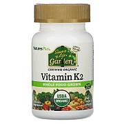 Органический Витамин K2 120мкг, Source of Life Garden, Natures Plus, 60 гелевых капсул
