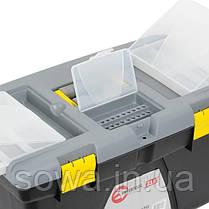 "Ящик для инструмента 23.5"" 600*340*317мм INTERTOOL BX-0323, фото 3"