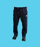 Брюки спортивные Adidas трикотажные,зимние.Синие.24156