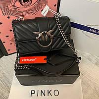 Женская кожаная сумка Pinko Пинко, фото 1