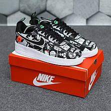 Жіночі кросівки Nike Air Force World Black White ALL02376, фото 2