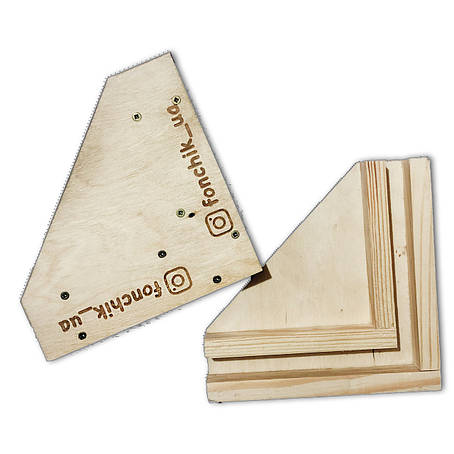 Крепежные уголки для деревянных фотофонов, фото 2