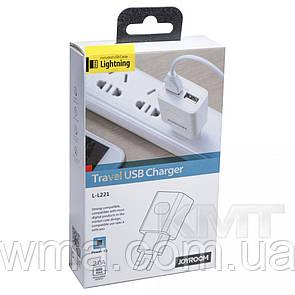 Сетевые зарядные устройства для телефонов и планшетов (Зарядное устройство к телефону) Joyroom L-L221 UM2 (EU)