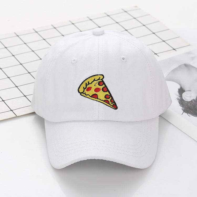 Кепка Бейсболка Чоловіча Жіноча City-A з Піцою Pizza Біла
