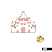 Значок металевий Пін Pin City-A Аліса в країні чудес Замок №885