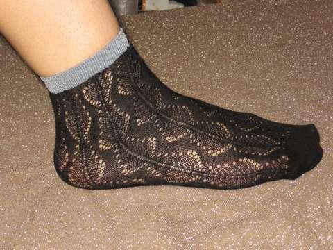 Носки женские ажурные Bross из хлопка