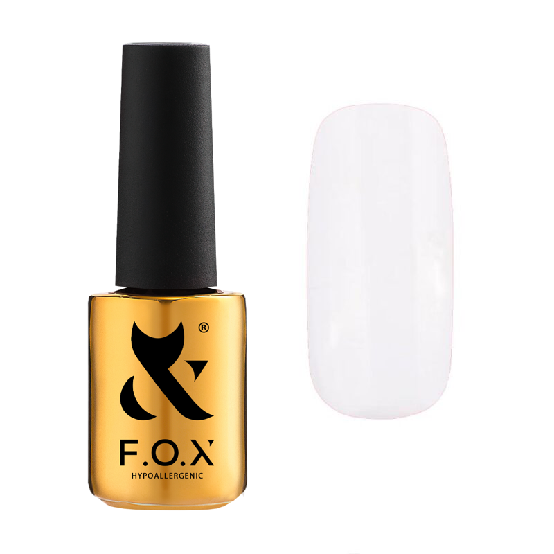 Гель лак F. O. X Pigment №001 7 мл
