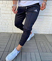 Спортивные штаны адидас мужские черные