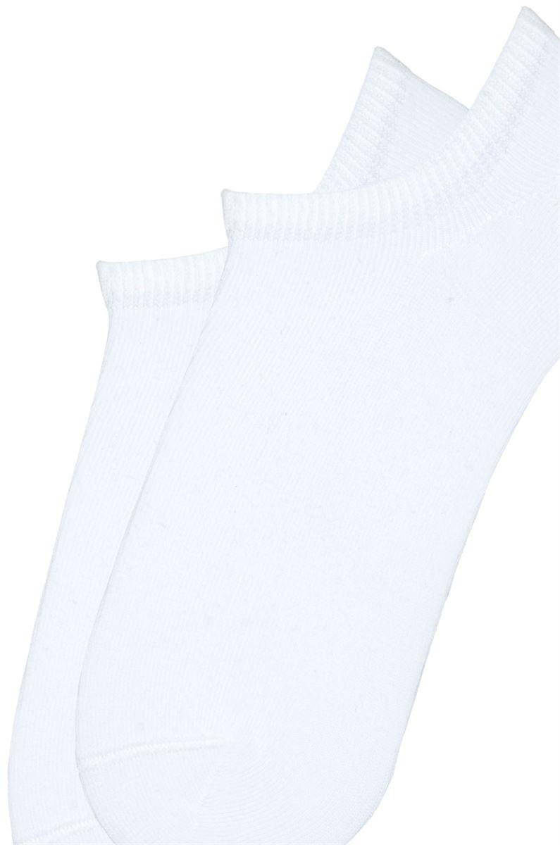 Носки женские короткие хлопковые Bross белые